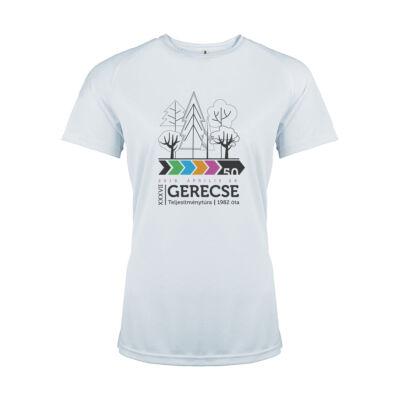 XXXVII. Gerecse50 női technikai póló (fehér, XL)