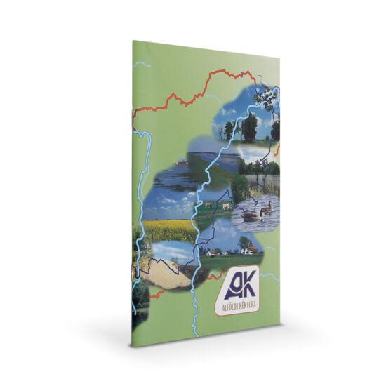 Az alföldi Kéktúra útvonala és igazoló füzete