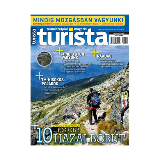 Turista Magazin 2013 októberi szám