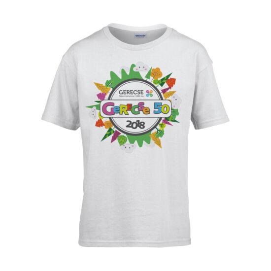 XXXVII. Gerecse50 gyerek technikai póló (fehér, M)