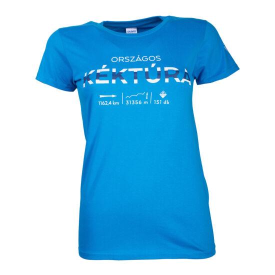 """Póló """"OKT-infó"""" (kék, női, XL)"""