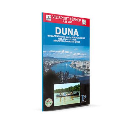Duna vízi sport térkép Budapest - Dunaújváros