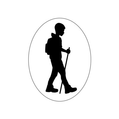 """Turista Vagyok"""" autómatrica fiú (fekete)"""