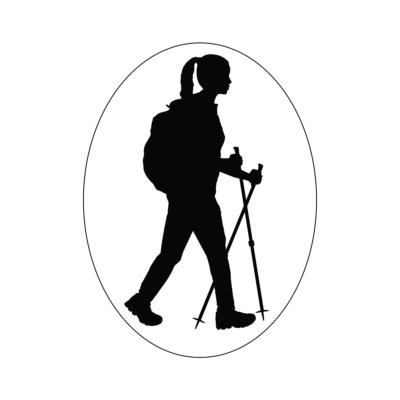 Turista Vagyok autómatrica női (fekete)