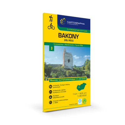 Bakony (déli rész), Somló turistatérkép