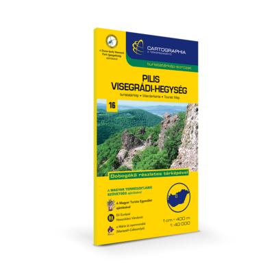 Pilis és Visegrádi-hegység turistatérkép