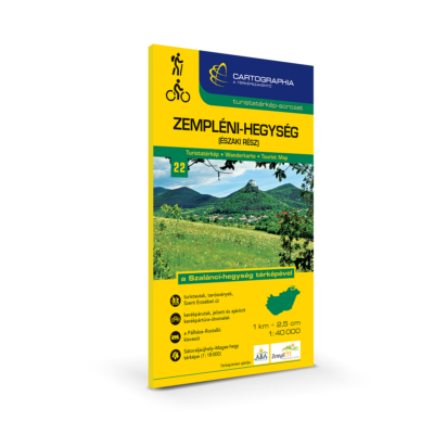 Zempéni-hegység (északi rész) turistatérkép
