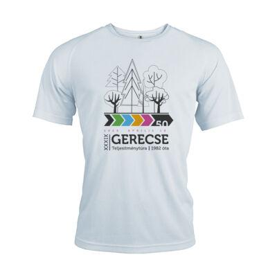 XXXIX. Gerecse50 férfi technikai póló (fehér)