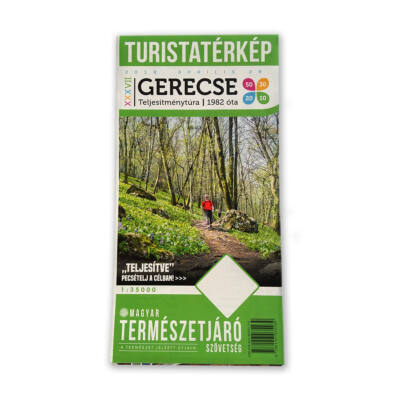 XXXVII. Gerecse50 Turistatérkép