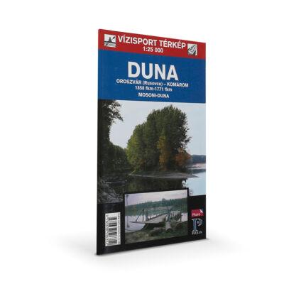 A Duna vízisport-térképe (Oroszvár - Komárom)