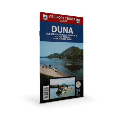 Duna vízi sport térkép Budapest - Komárom