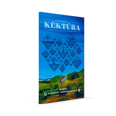 Országos Kéktúra útvonalvázlat és igazolófüzet (új)