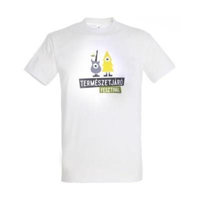 Póló-Természetjáró Fesztivál gyerek (fehér,XS)