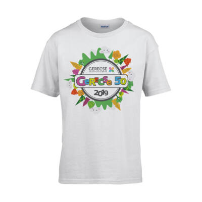 XXXVIII. Gerecse50 gyerek technikai póló (fehér, 10/12)