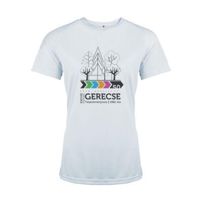 XXXVIII. Gerecse50 női technikai póló (fehér, L)