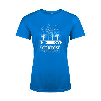 XXXVII. Gerecse50 női technikai póló (kék, XL)