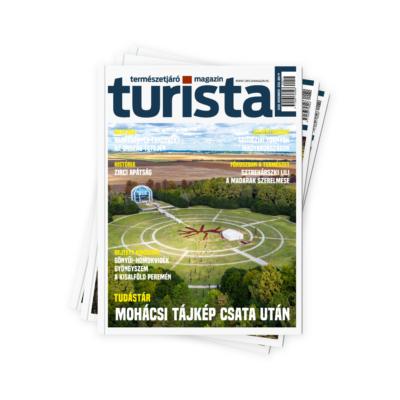 Turista Magazin éves előfizetés 2021