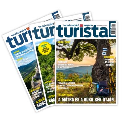 Turista Magazin éves előfizetés 2020