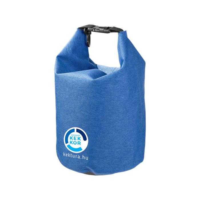 Vízálló traveller táska 5L,melírozott kék