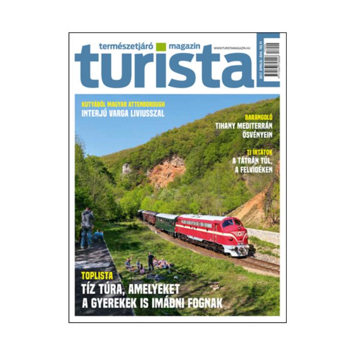 Turista Magazin 2017 áprilisi szám