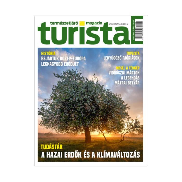 Turista Magazin 2018. áprilisi szám