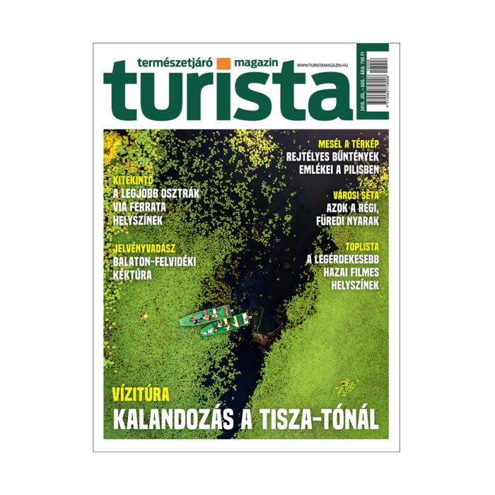 Turista Magazin 2018. július-augusztusi szám