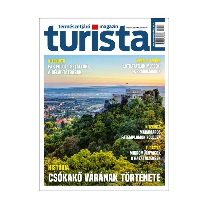 Turista Magazin 2018. novemberi szám