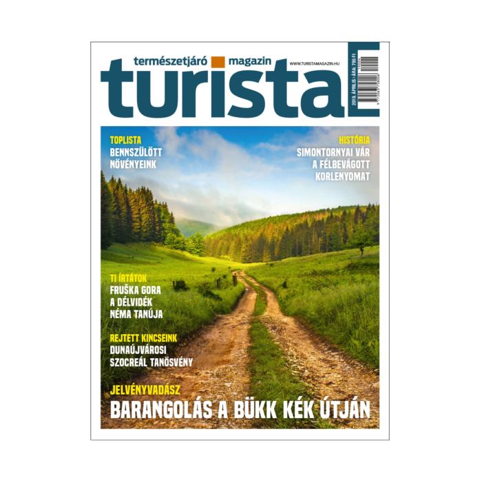 Turista Magazin 2019. áprilisi szám