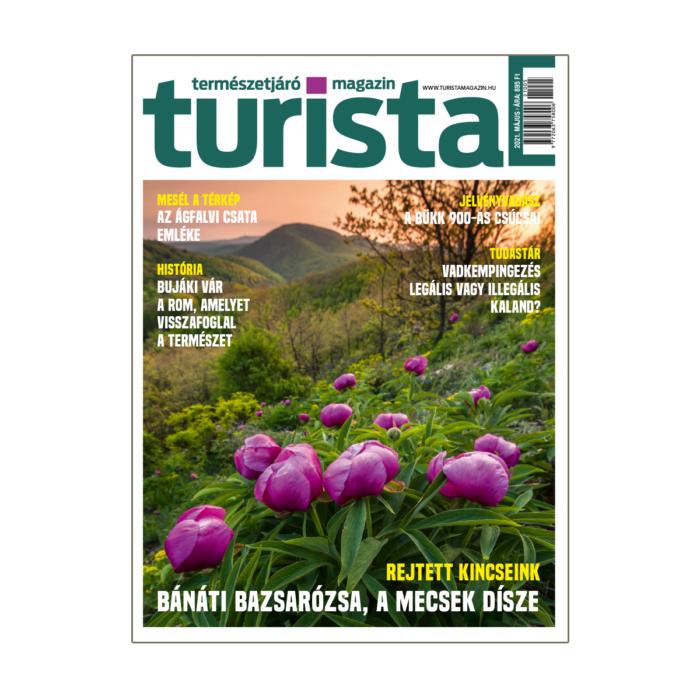 Turista Magazin 2021. májusi szám